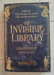 The Invisible Library | edgeofaword
