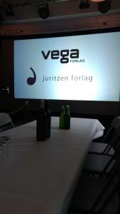 Forlagstreff med Juritzen og Vega forlag | edgeofaword
