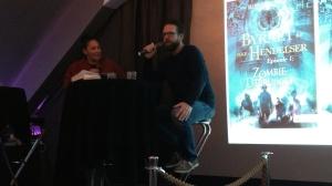 Robert Næss ved forlagstreff for Juritzen og Vega forlag | edgeofaword